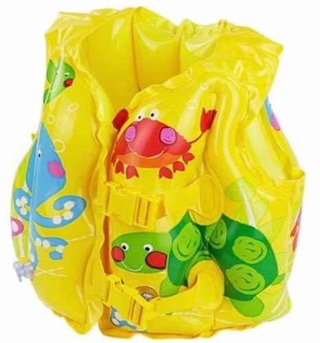 Colete Infantil Inflável Peixinho Salva Vidas Piscina