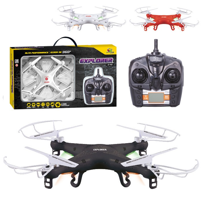 Drone Quadricoptero Explorer