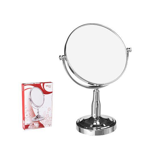 Espelho Dupla Face com Pedestal 7 Polegadas