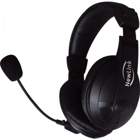 Fone de Ouvido Headset Profissional HS201 com Microfone