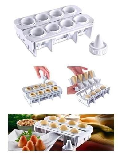 Forma para Fábrica de Coxinhas Kit Modelador