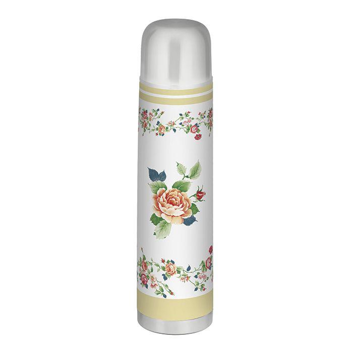Garrafa Térmica Aço Inox Roses 1 Litro