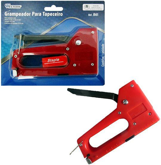 Grampeador para Tapeceiro 4 a 8mm