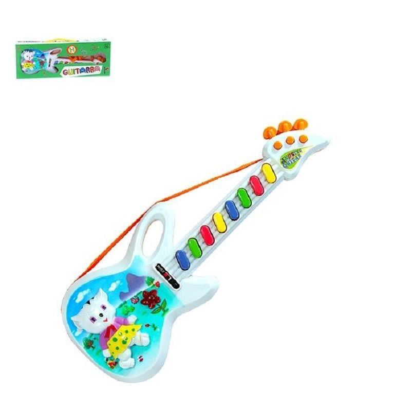 Guitarra Musical Infantil Eletrônica Baby