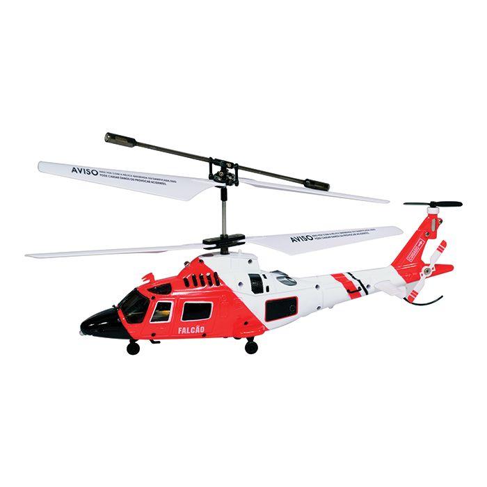 Helicóptero com Controle Remoto Falcão 3 Canais
