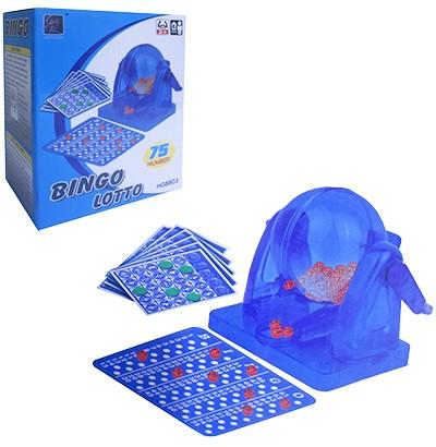 Jogo Bingo Lotto Acrílico