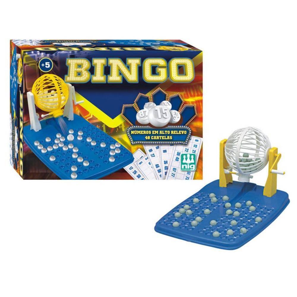 Jogo de Bingo 48 Cartelas