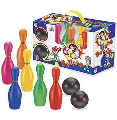Jogo de Boliche Infantil com 8 Peças