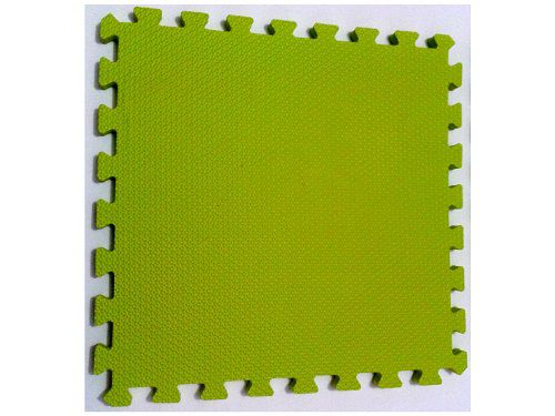 Kit 10 Tapetes Tatames Coloridos Eva 50cm X 50cm X 15mm C/ Borda