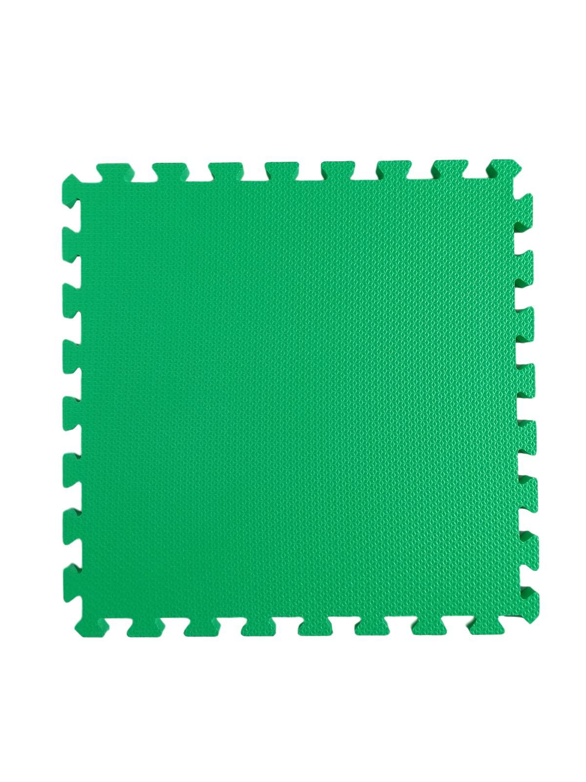 Kit 16 Tapetes Tatames Coloridos Eva 50cm X 50cm X 15mm C/ Borda