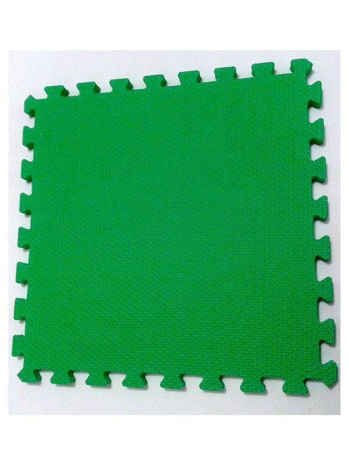 Kit 36 Tapetes Tatames Coloridos EVA 50 x 50 x 1cm com Borda