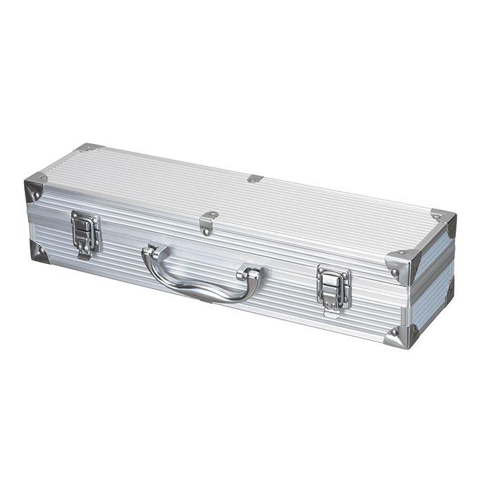 Kit Churrasco 3 Peças com Maleta em Alumínio