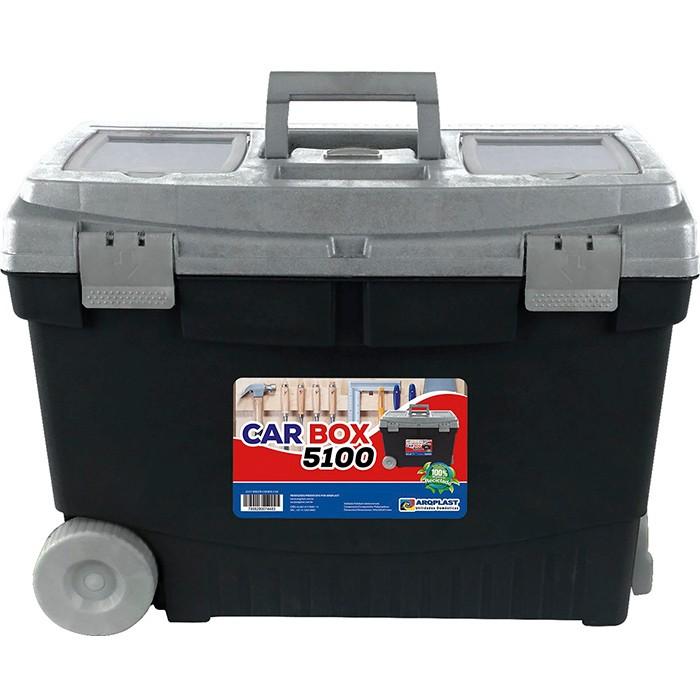 Maleta Car Box 5100 Caixa Ferramentas com Rodinhas