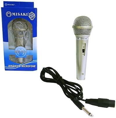 Microfone Profissional Dinâmico MS-701