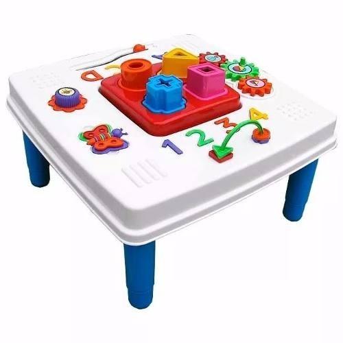 Mini Mesinha Didática Centro de Atividades Bebê