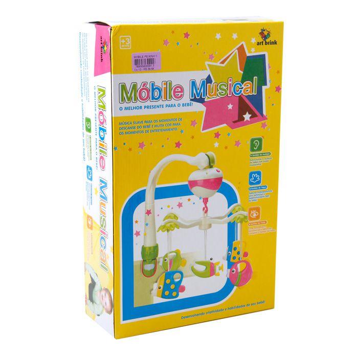 Mobile Bebê Peixinho com Regulador de Música