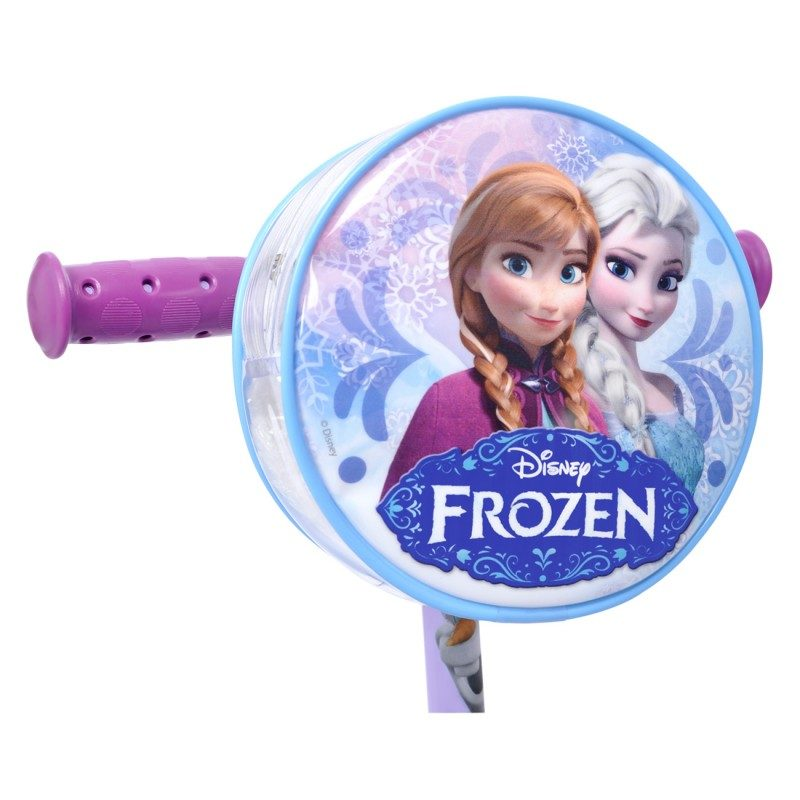Patinete Frozen Disney Bandeirante Infantil 3 Rodas