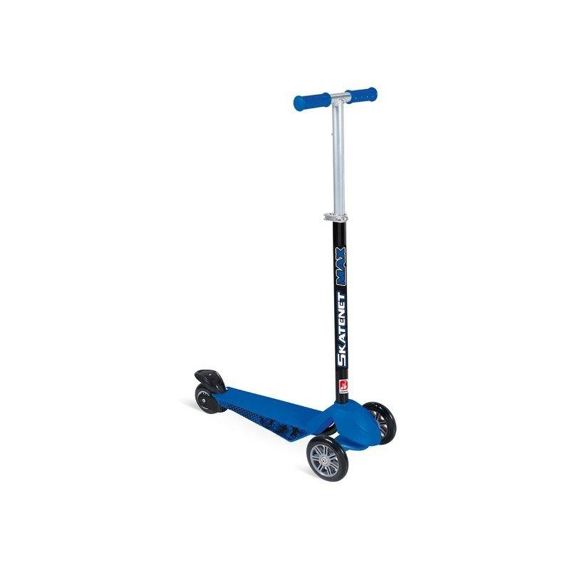 Patinete Infantil Skatenet Max Azul Bandeirante até 70 Kg