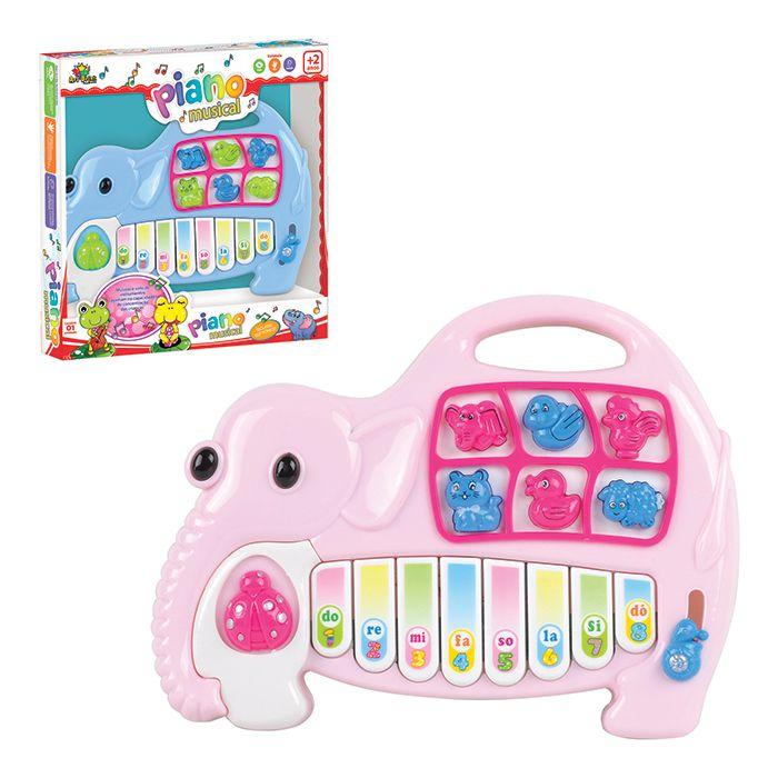 Piano Infantil Musical Elefantinho