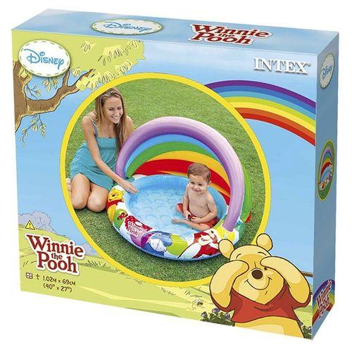 Piscina Bebe com Proteção do Sol Winnie The Pooh 45L