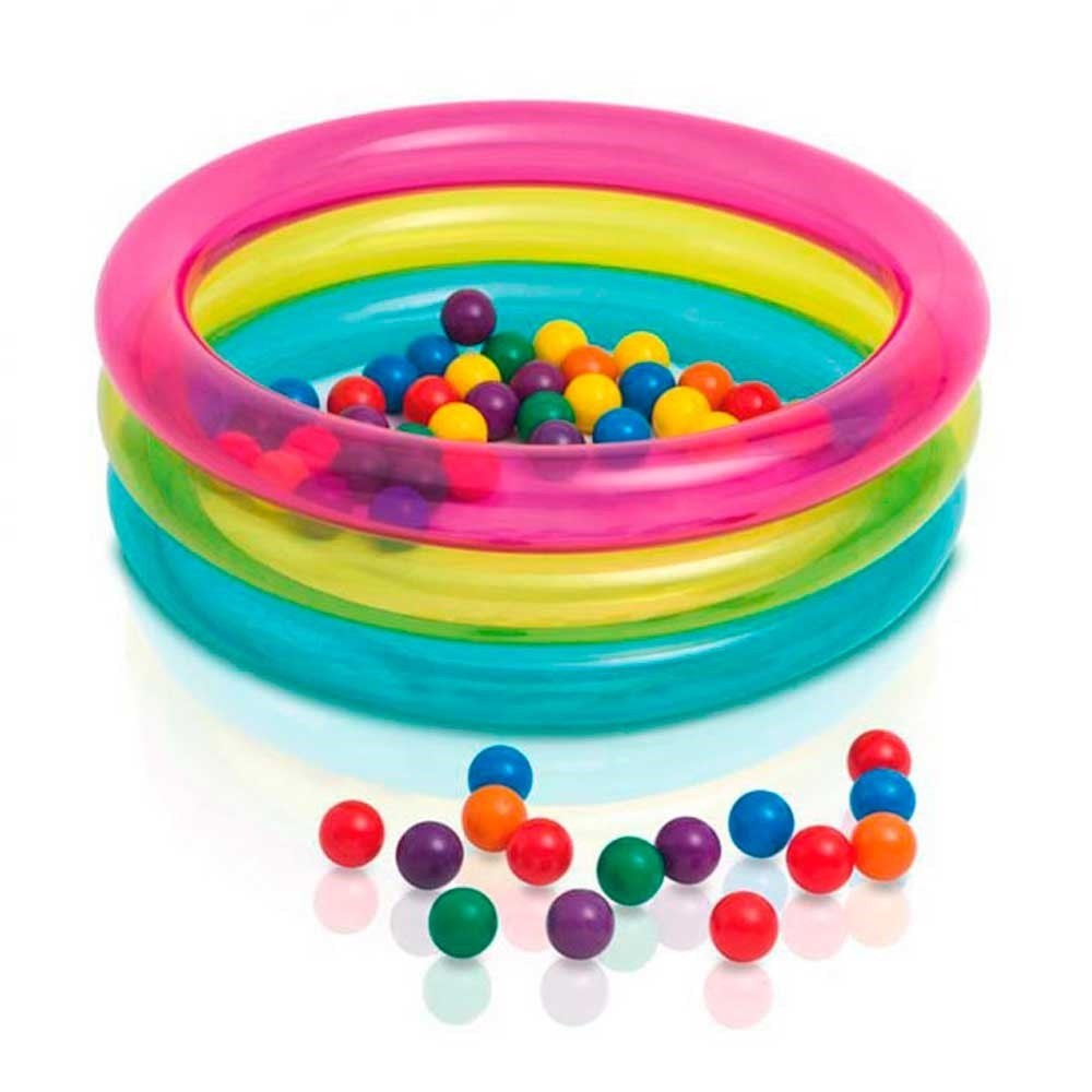Piscina de Bolinhas Multi-Color Intex