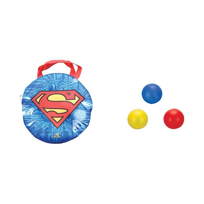 Piscina de Bolinhas Superman com 100 Bolinhas