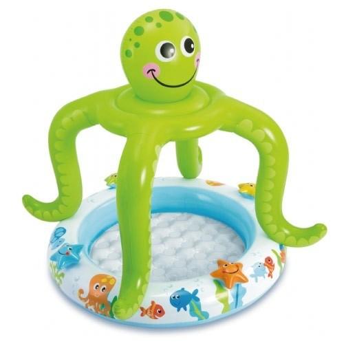 Piscina Infantil Bebê Criança em Formato de Polvo