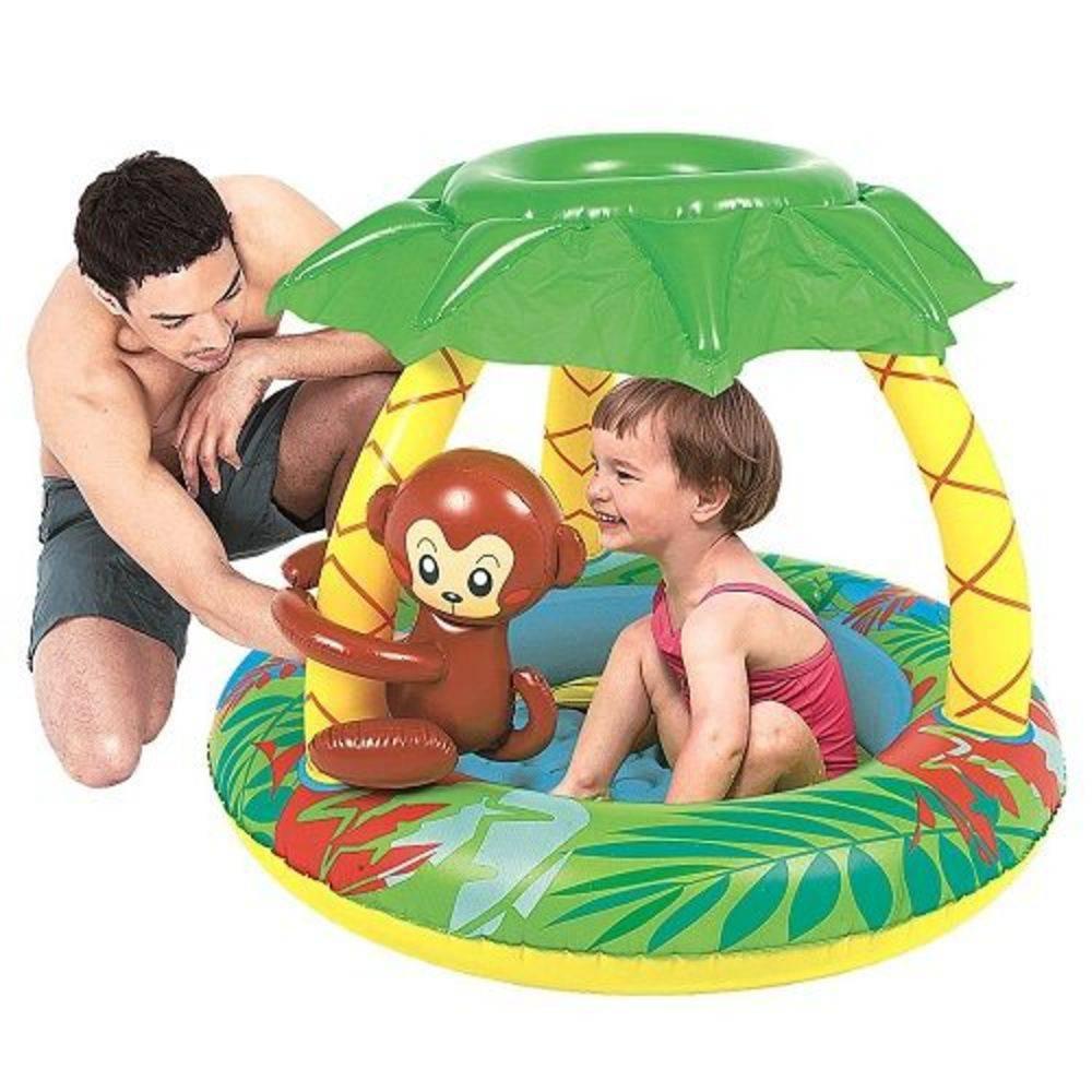 Piscina Infantil Bebê Criança Macaco Macaquinho