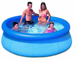 Piscina Inflável Redonda Easy Set 2419 Litros Intex