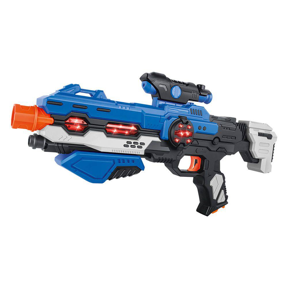 Pistola de Brinquedo Space Weapon Dark Com Luz e Som
