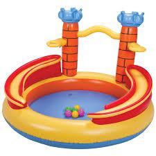 Playground Castelo 170 Litros Piscina Inflável Infantil