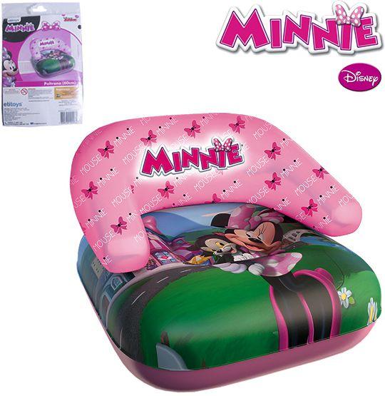 Poltrona Inflável Infantil Minnie 60cm