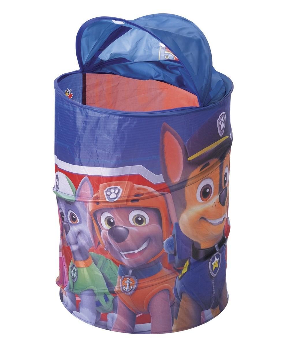 Porta Objetos Infantil Patrulha Canina Organizador de Brinquedos