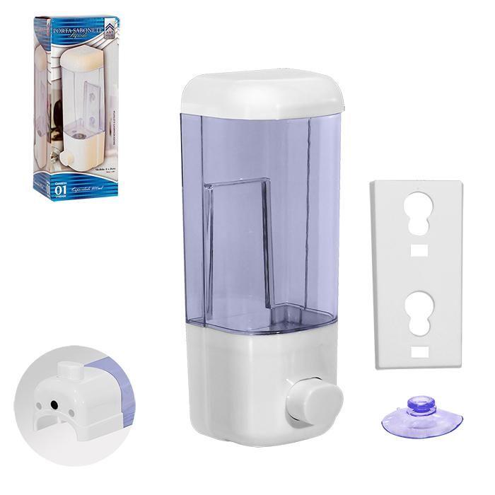 Porta Sabonete Líquido Dispenser Álcool Gel Sabonete Líquido 600ml
