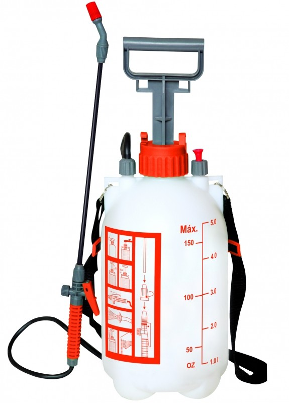 Pulverizador Manual 5 Litros Bel Fix Bomba Dedetização