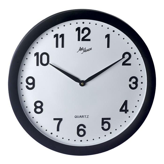 Relógio de Parede Big 50cm de Diâmetro Grande Branco
