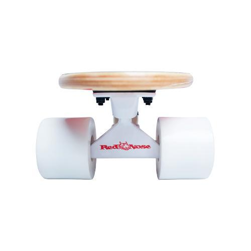 Skate Mini Longboard Cruiser Red Nose Abec 7 Truck Invertido