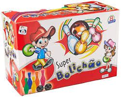 Super Bolichão Jogo de Boliche 8 Peças