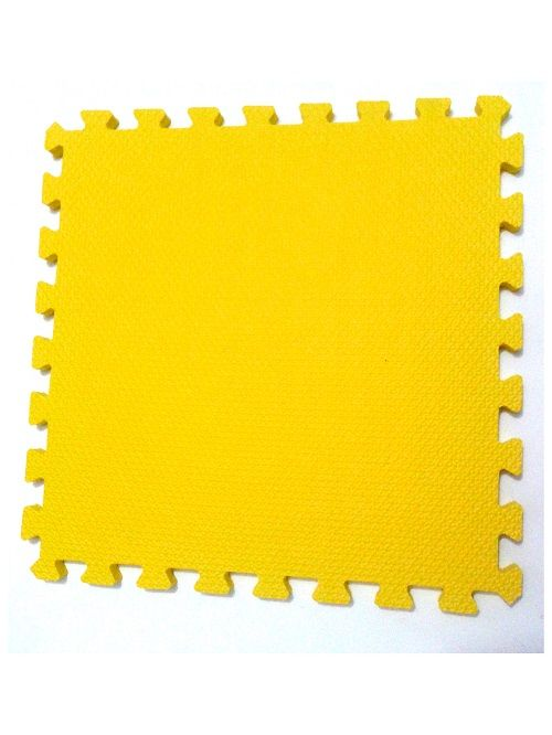 Tatame Tapete EVA Com Borda 50 X 50 X 3cm Amarelo