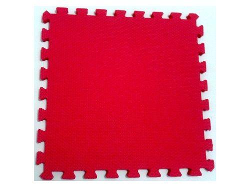 Tatame Tapete EVA Com Borda 50 X 50 X 3cm Vermelho