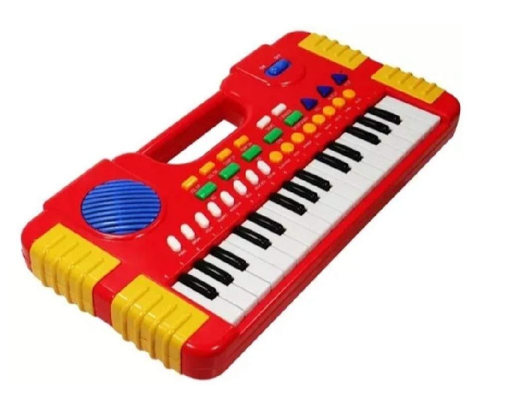 Teclado Piano Musical Infantil com Sons Eletrônicos 32 Teclas