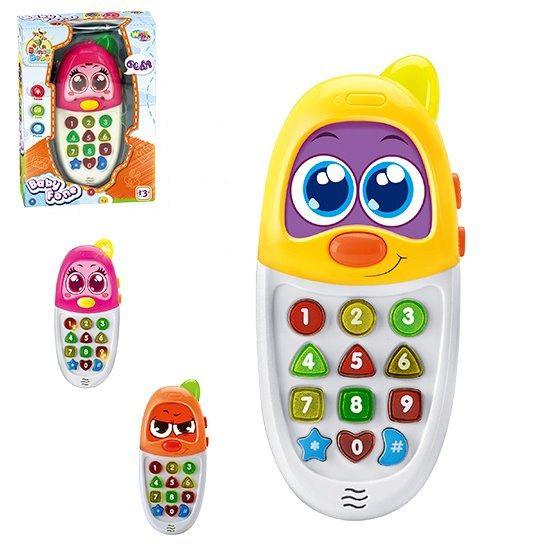 Telefone Infantil Musical Baby Fone Português e Inglês