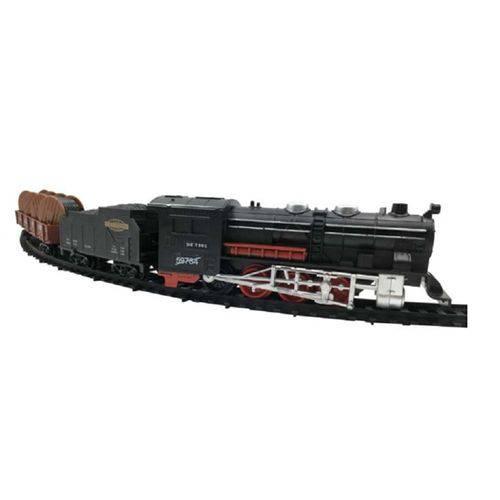 Trem Trenzinho Ferrorama Rail Trail a Pilhas com Luz