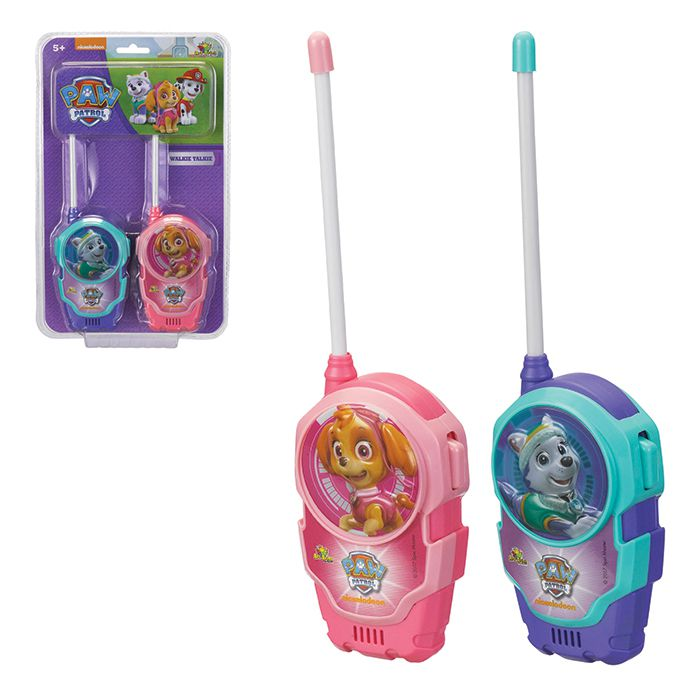 Walkie Talkie Infantil Paw Patrol Girls