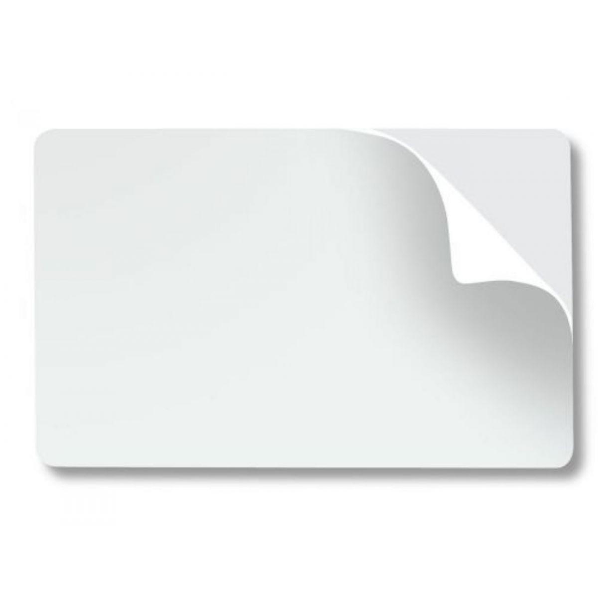 100 Cartões PVC Adesivado 0,46