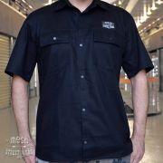 Camisa Worker Preta