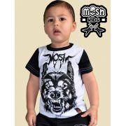 Camiseta Infantil Lobo