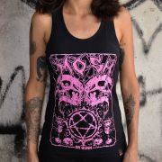 Regata Fem HeartGram Skulls