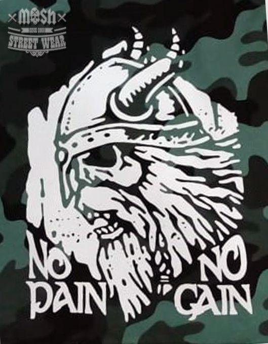 Bermuda Camuflada No Pain No Gain
