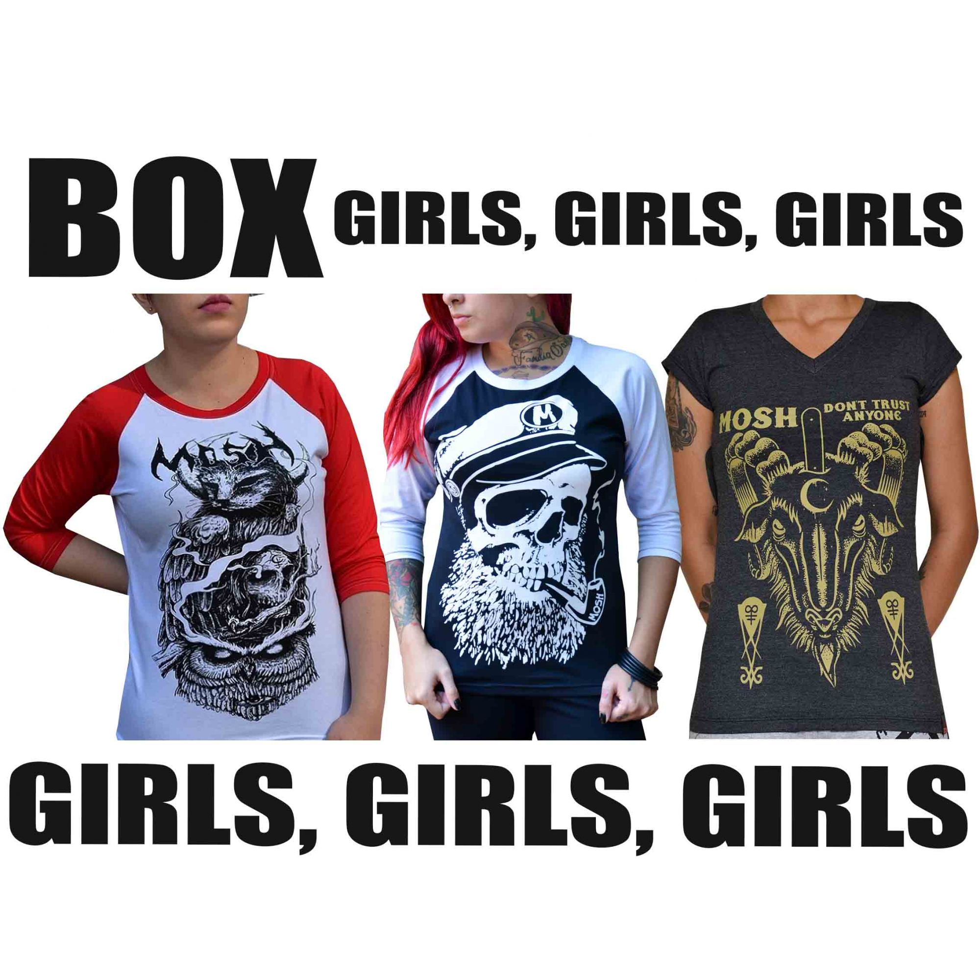 BOX GIRLS, GIRLS, GIRLS